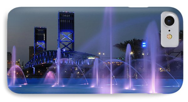 The Main Street Bridge Phone Case by Lori Deiter
