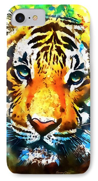 The Malayan Tiger IPhone Case