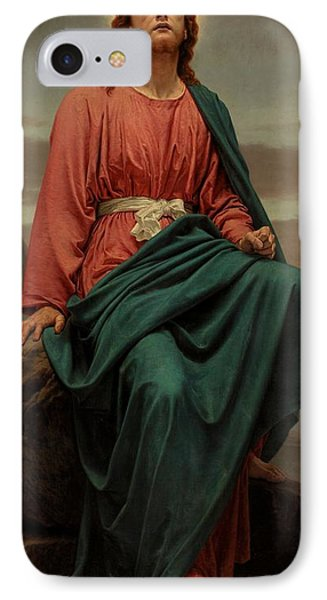The Man Of Sorrows IPhone Case by Sir Joseph Noel Paton