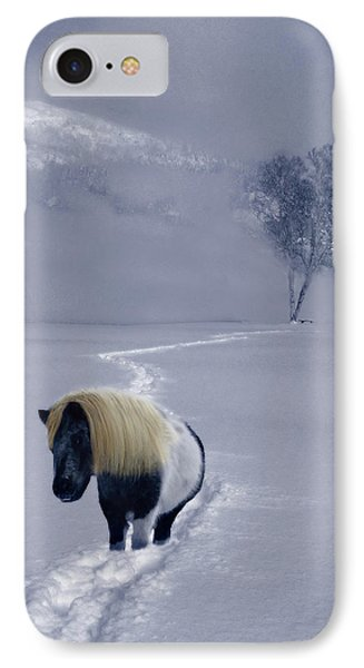 The Mane And The Mountain Phone Case by Wayne King