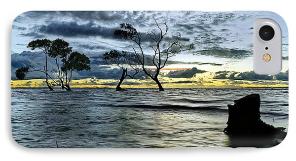 The Mangrove Trees IPhone Case by Robert Charity