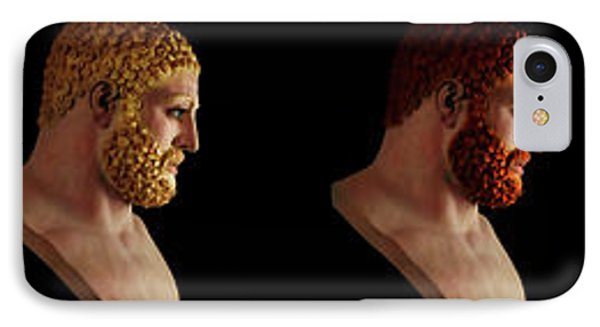 The Many Faces Of Hercules IPhone Case by Shawn Dall