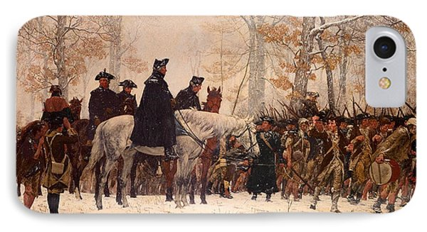 The March To Valley Forge IPhone Case