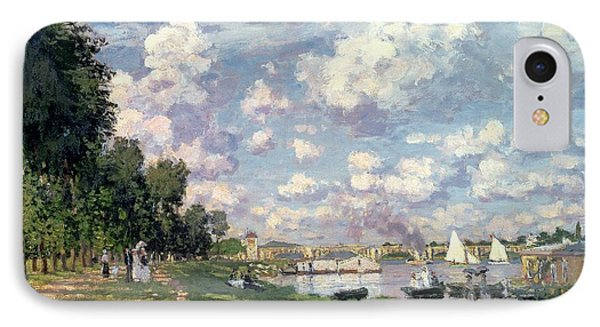 The Marina At Argenteuil IPhone Case by Claude Monet