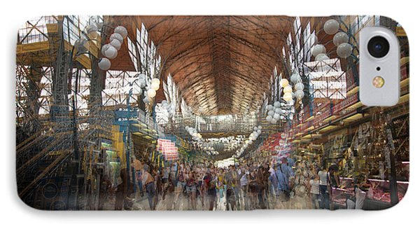 IPhone Case featuring the photograph The Market Hall by Alex Lapidus