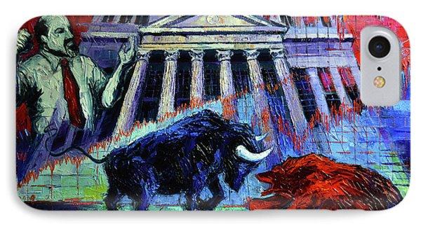 The Market IPhone Case by Mona Edulesco