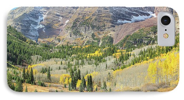 The Maroon Bells 2 IPhone Case by Eric Glaser