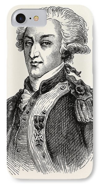 The Marquis De Lafayette IPhone Case by American School