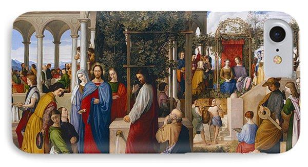 The Marriage At Cana Phone Case by Julius Schnorr von Carolsfeld