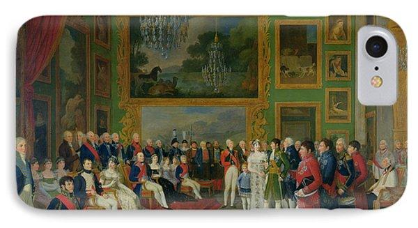 The Marriage Of Eugene De Beauharnais Phone Case by Francois Guillaume Menageot
