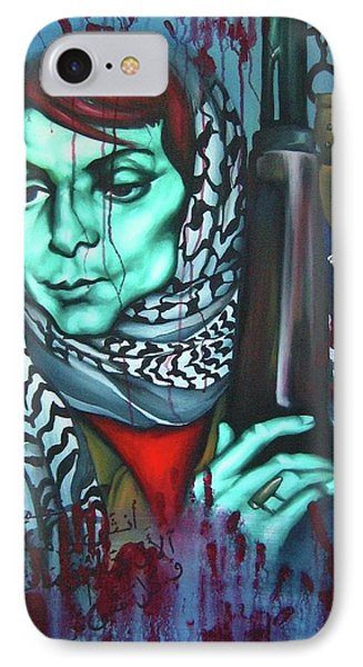 The Marriage Of Leila Khaled Phone Case by Khalid Hussein