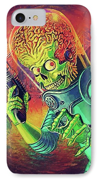 The Martian - Mars Attacks IPhone 7 Case