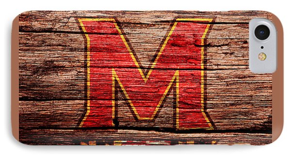 The Maryland Terrapins 1a IPhone Case by Brian Reaves