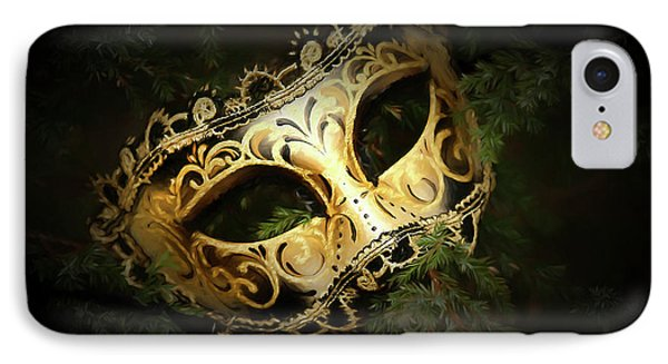 IPhone Case featuring the photograph The Mask by Darren Fisher