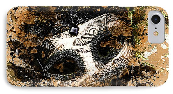 IPhone Case featuring the photograph The Mask Of Fiction by LemonArt Photography