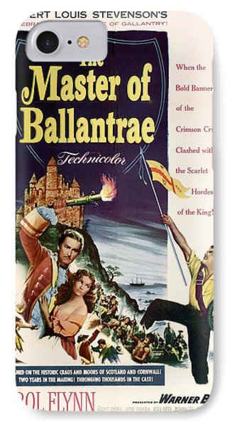 The Master Of The Ballantrae 1953 IPhone Case by Mountain Dreams