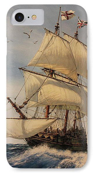 The Mayflower IPhone Case by Dan Nance