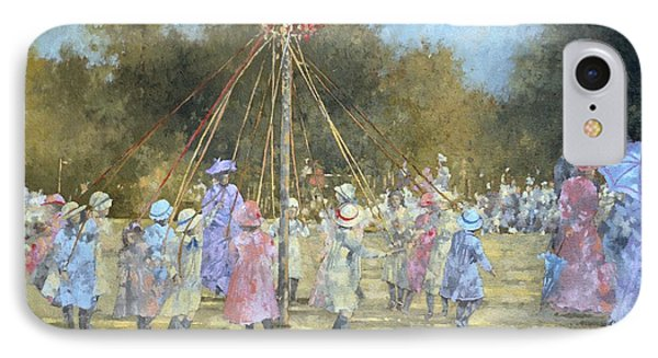 The Maypole  IPhone Case by Peter Miller