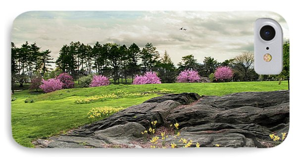 IPhone 7 Case featuring the photograph The Meadow Beyond by Jessica Jenney