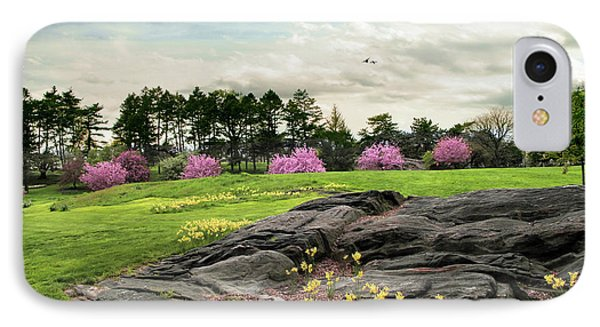 IPhone Case featuring the photograph The Meadow Beyond by Jessica Jenney