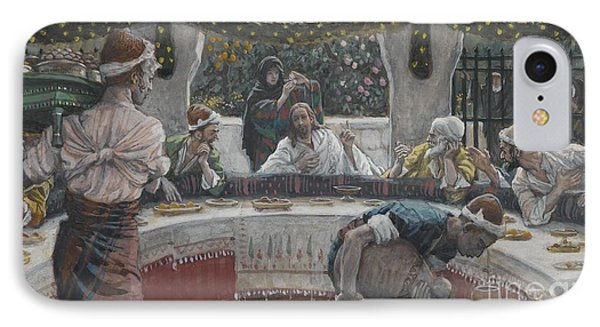 The Meal In The House Of The Pharisee IPhone Case by Tissot
