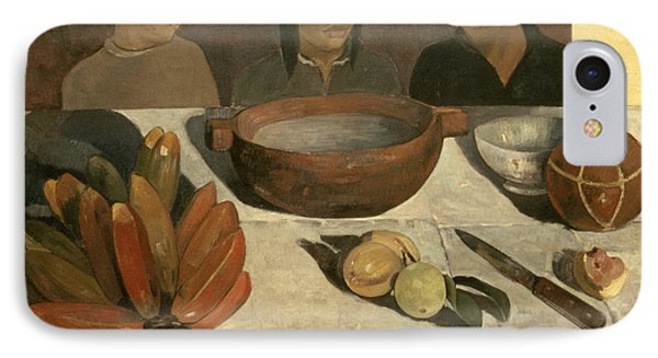 The Meal IPhone Case by Paul Gauguin
