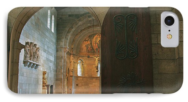 An Early Morning At The Medieval Abbey IPhone Case