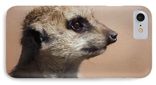 The Meerkat Da IPhone Case by Ernie Echols