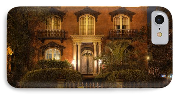 The Mercer House IPhone Case by Mark Andrew Thomas