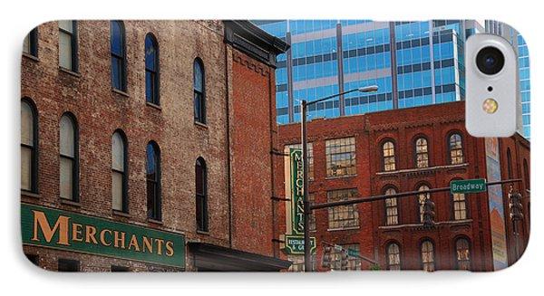 The Merchants Nashville IPhone Case by Susanne Van Hulst