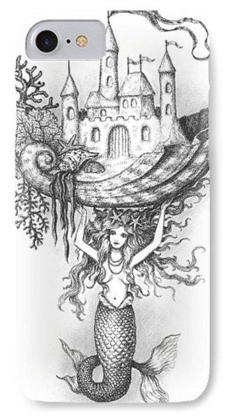 The Mermaid Fantasy IPhone Case