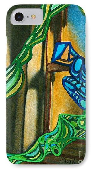The Mermaid On The Window Sill Phone Case by Sarah Loft