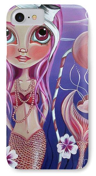 The Mermaid's Garden Phone Case by Jaz Higgins