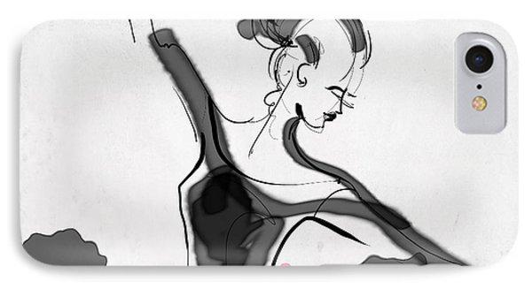 The Met Dancer IPhone Case by Jodi Pedri