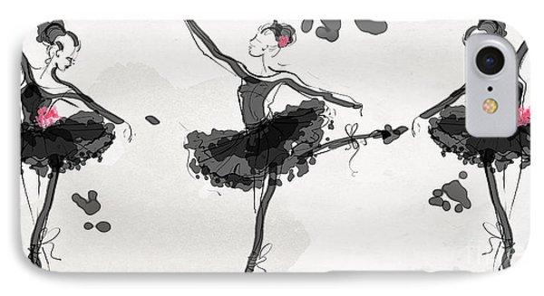The Met Debut - Dancers In Black IPhone Case