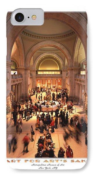 The Metropolitan Museum Of Art Phone Case by Mike McGlothlen