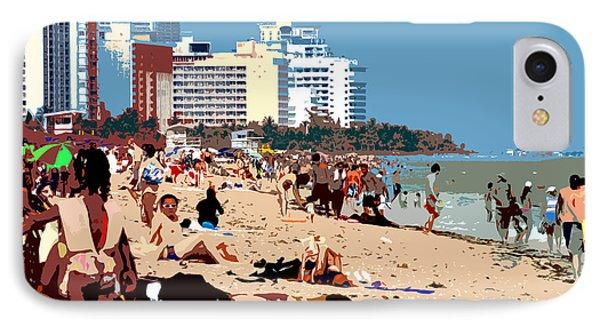 The Miami Beach Phone Case by David Lee Thompson