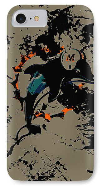 The Miami Dolphins IPhone Case by Brian Reaves