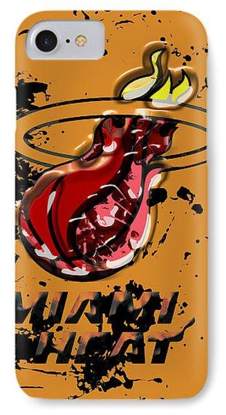 The Miami Heat 1a IPhone Case