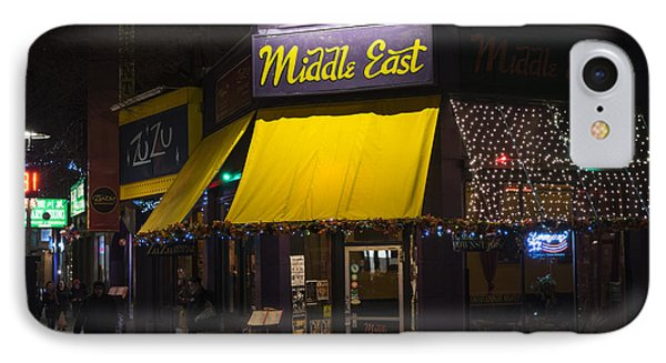The Middle East Cambridge Ma Central Square IPhone Case by Toby McGuire