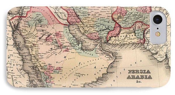 The Middle East In The Mid 19th Century IPhone Case by English School