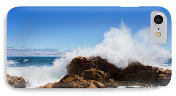 IPhone 7 Case featuring the photograph The Might Of The Ocean by Jorgo Photography - Wall Art Gallery