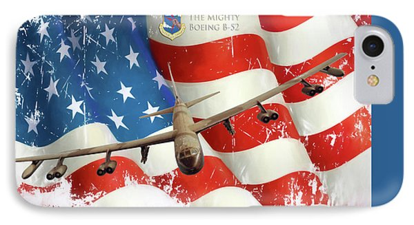 The Mighty B-52 IPhone Case by Peter Chilelli
