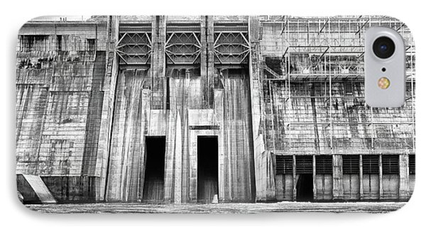 The Mighty Dam Architecture Art By Kaylyn Franks IPhone Case