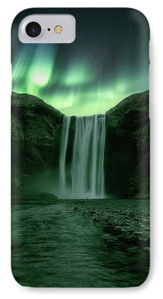 The Mighty Skogafoss IPhone Case by Tor-Ivar Naess