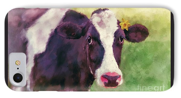 IPhone Case featuring the photograph The Milk Maid by Lois Bryan