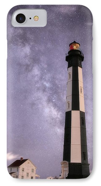 The Milky Way Over Cape Henry IPhone Case