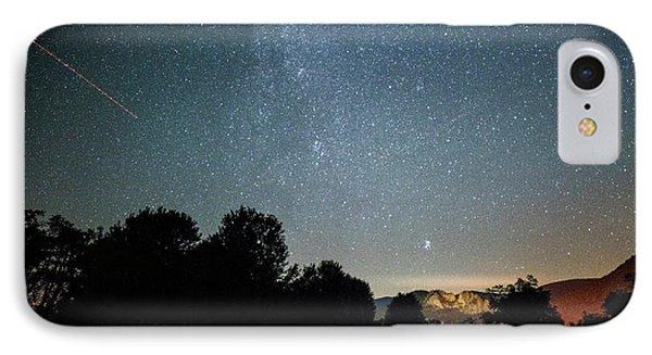 The Milky Way Over Seneca Rocks Phone Case by Dr Regina E Schulte-Ladbeck