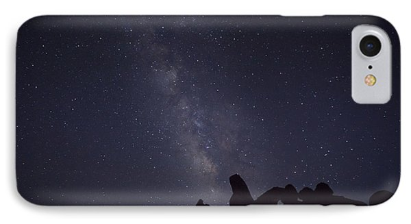 The Milky Way Over Turret Arch IPhone Case