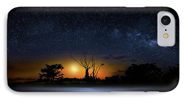 The Milky Way Tree IPhone Case